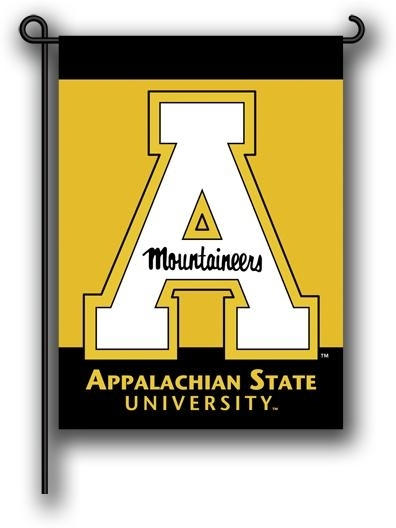 Appalachian St. 2-sided Garden Flag - 83076 - Ncaa College Appalachian State Asu Mountaineers 2sided Garden Flags 83076