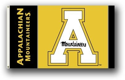 Appalachian State 3x5 Flag - 95076 - Ncaa College Appalachian State Asu Mountaineers 3x5 Flags 95076