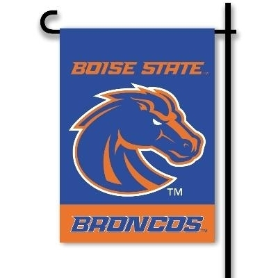 Boise State 2-sided Garden Flag - 83180 - Ncaa College Boise State Bois Broncos 2sided Garden Flags 83180