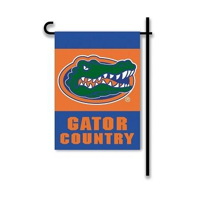 "Ncaa College Florida Uf Gators 2sided Garden Flags - 83209 - Florida ""gator Country"" Garden Flag Two Sided 83209"