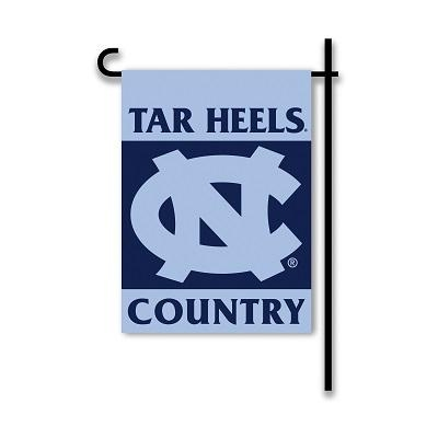 "Ncaa College North Carolina Unc Tar Heels 2sided Garden Flags - 83208 - North Carolina ""tar Heels Country"" Garden Flag 83208"