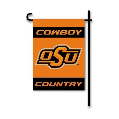 "Oklahoma St ""cowboys Country"" Garden Flag 2 Sided - 83247 - Ncaa College Oklahoma State Osu Cowboys 2sided Garden Flags 83247"