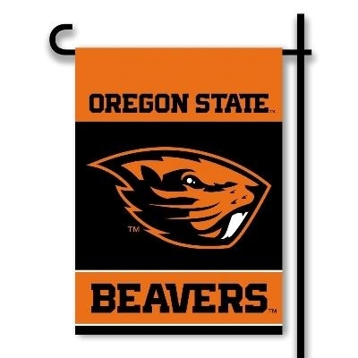Oregon State 2-sided Garden Flag - 83179 - Ncaa College Oregon State Orst Beavers 2sided Garden Flags 83179