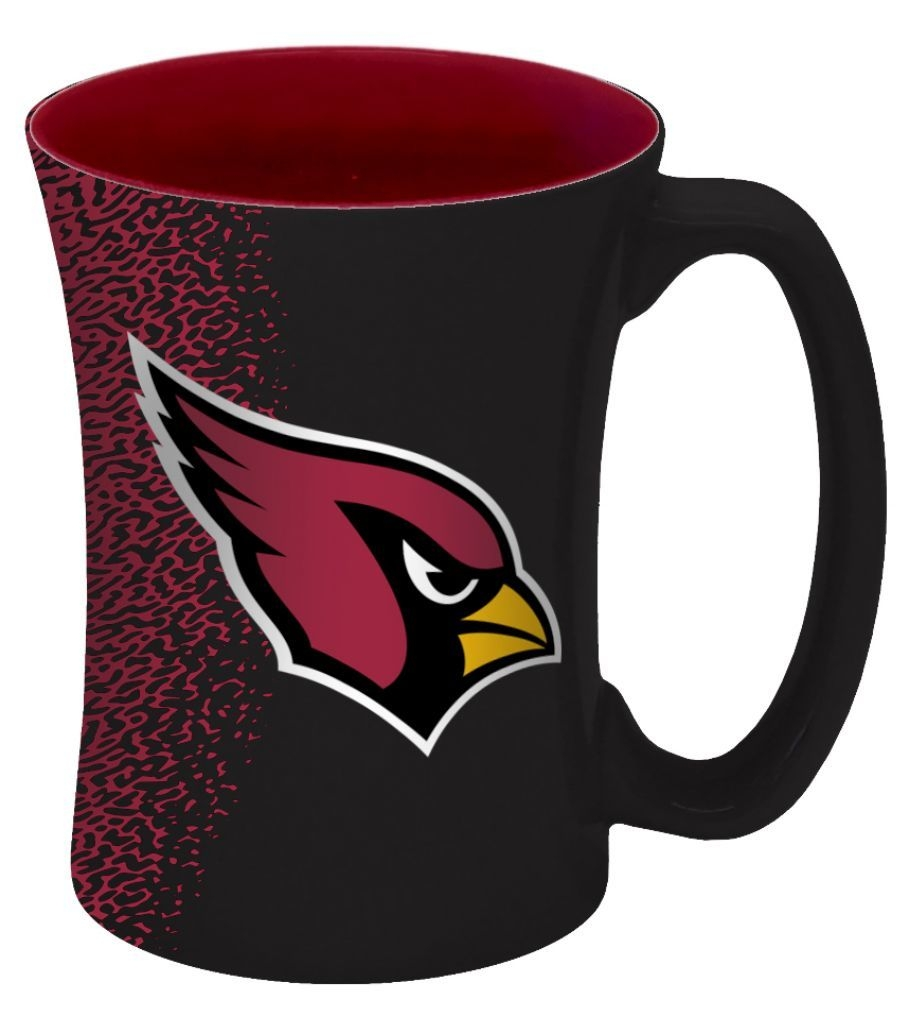 Nfl Football Arizona Cardinals Coffee Mugs - 8886013556 - Arizona Cardinals Coffee Mug-14 Oz Mocha 8886013556
