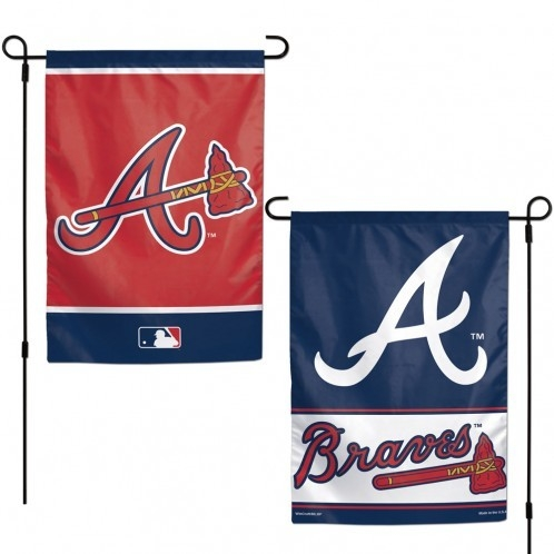 Atlanta  Flag 12x18 Garden Style 2 Sided - 3208515813 - Mlb Baseball Atlanta  Garden Flags 3208515813