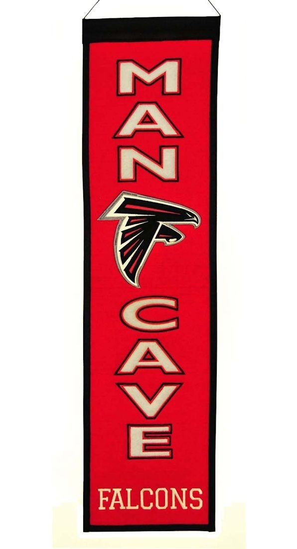 Atlanta Falcons Banner Wool Man Cave - 7408849172 - Nfl Football Atlanta Falcons Banners 7408849172