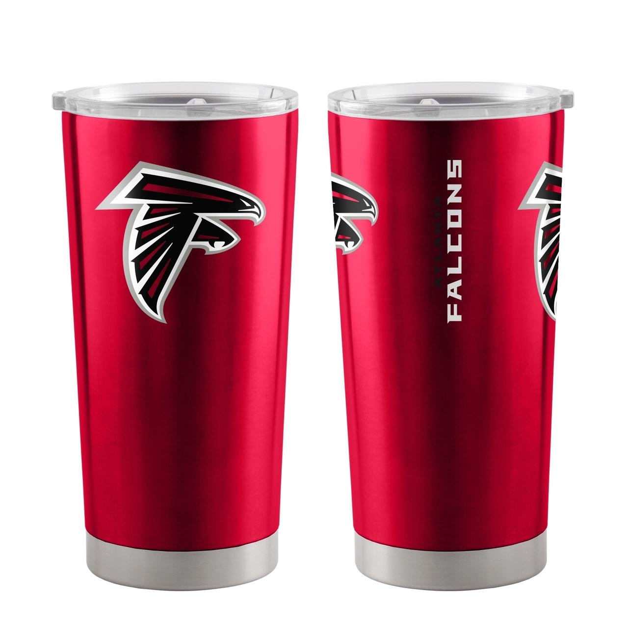 Atlanta Falcons Travel Tumbler 20oz Ultra Red - 8886048747 - Nfl Football Atlanta Falcons Tumblers And Pint Glasses 8886048747