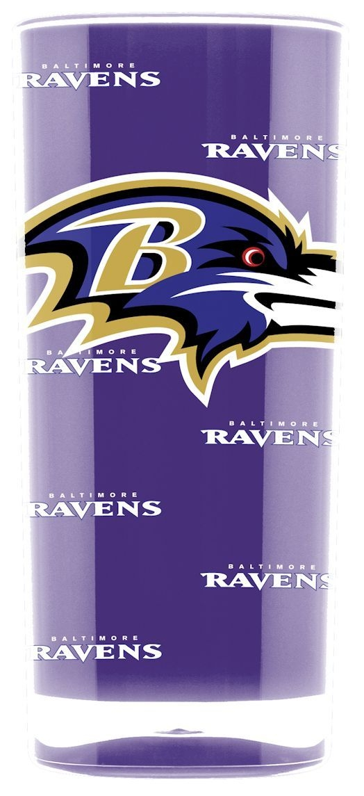 Baltimore Ravens Tumbler-square Insulated (16oz) - 9413103016 - Nfl Football Baltimore Ravens Tumblers And Pint Glasses 9413103016
