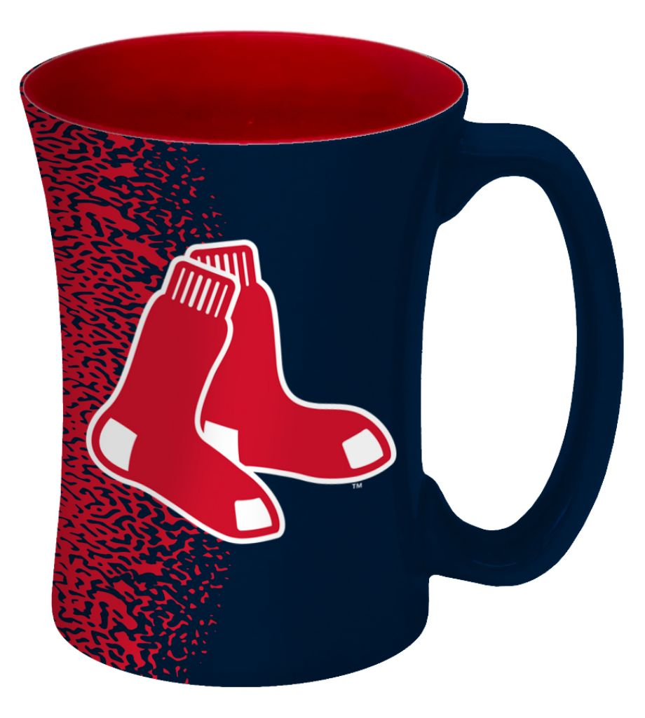 Boston Red Sox Coffee Mug-14 Oz Mocha - 8886013603 - Mlb Baseball Boston Red Sox Coffee Mugs 8886013603