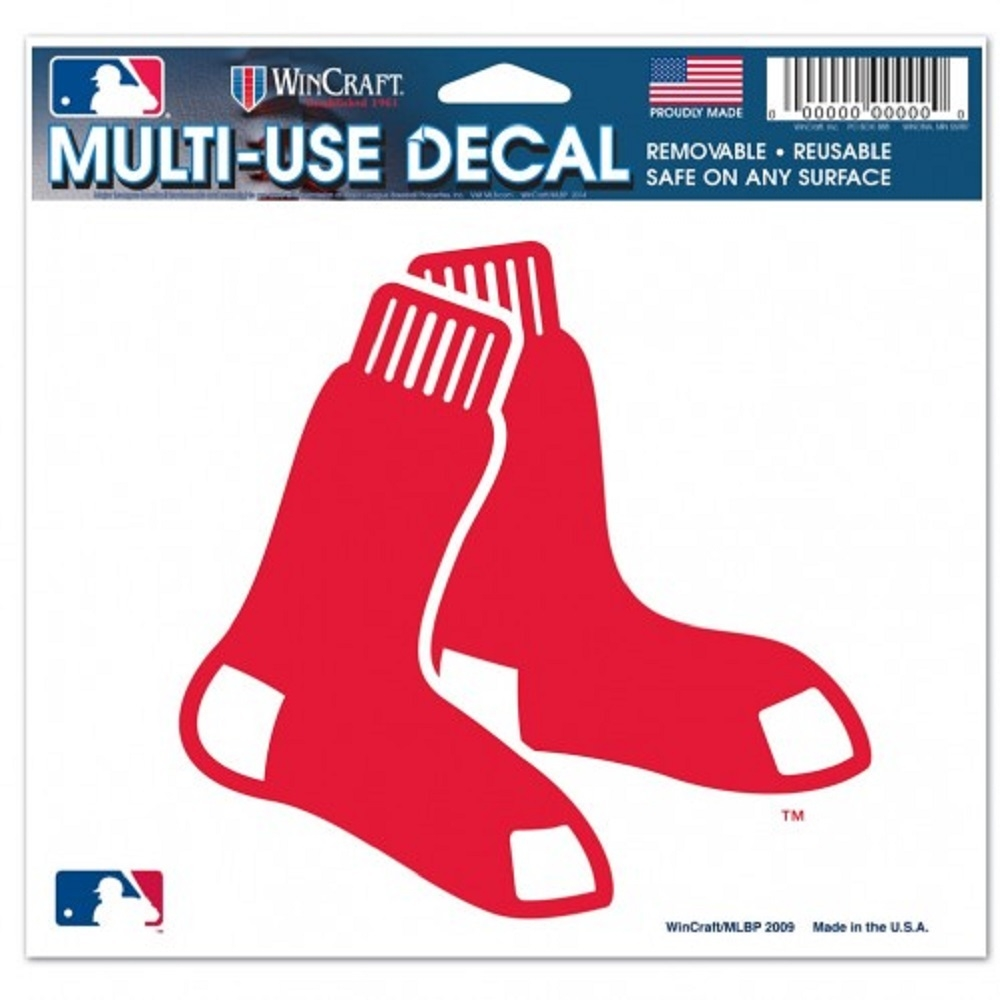 Mlb Baseball Boston Red Sox Decals - 3208514407 - Boston Red Sox Decal 5x6 Ultra Color 3208514407