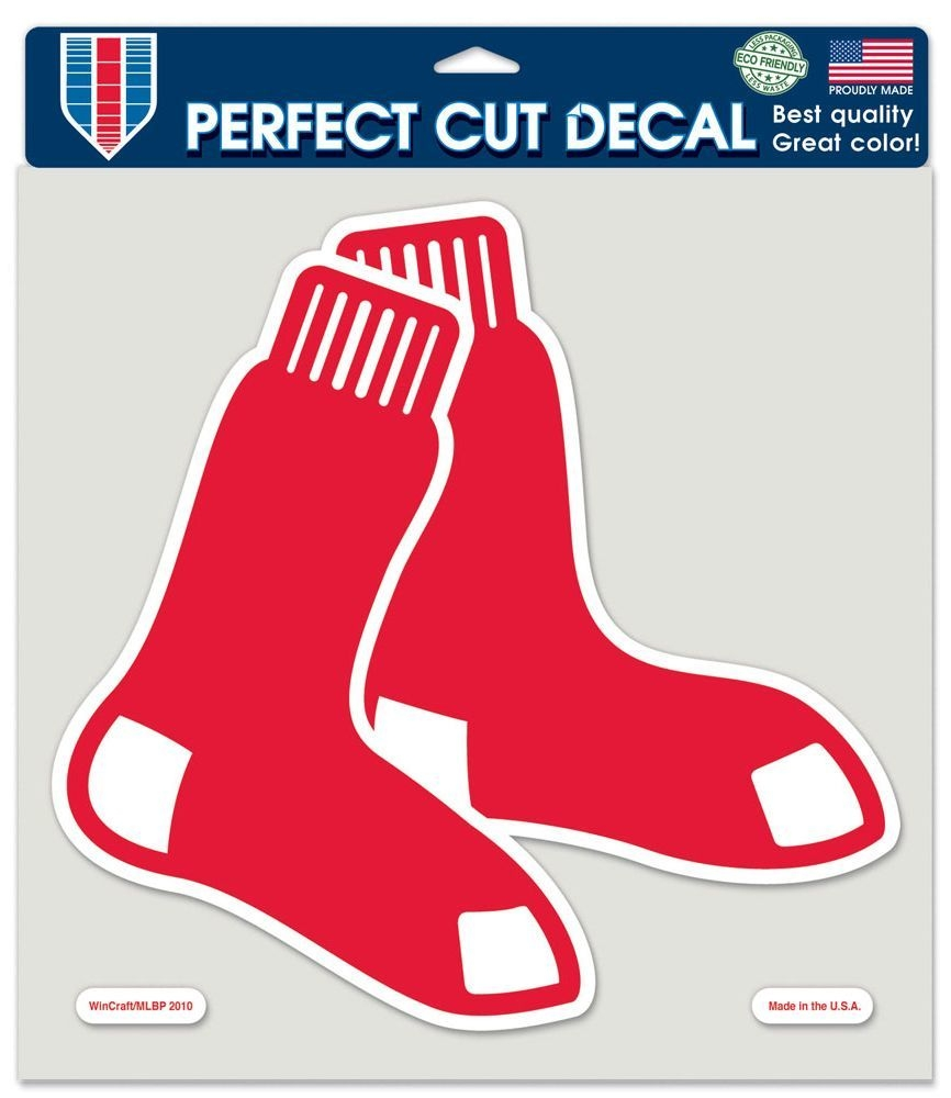 Mlb Baseball Boston Red Sox Decals - 3208579776 - Boston Red Sox Decal 8x8 Die Cut Color 3208579776