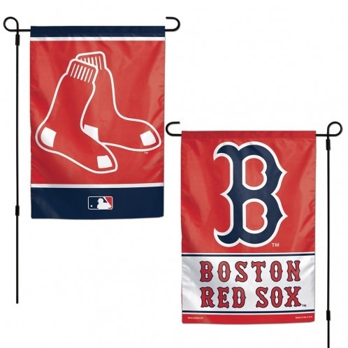 Boston Red Sox Flag 12x18 Garden Style 2 Sided - 3208516230 - Mlb Baseball Boston Red Sox Garden Flags 3208516230