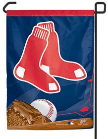 Boston Red Sox Garden Flag 11x15 Socks Logo - 3208521278 - Mlb Baseball Boston Red Sox Wind Sock 3208521278