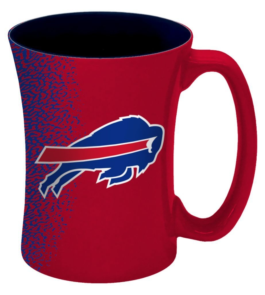 Buffalo Bills Coffee Mug-14 Oz Mocha - 8886013552 - Nfl Football Buffalo Bills Coffee Mugs 8886013552