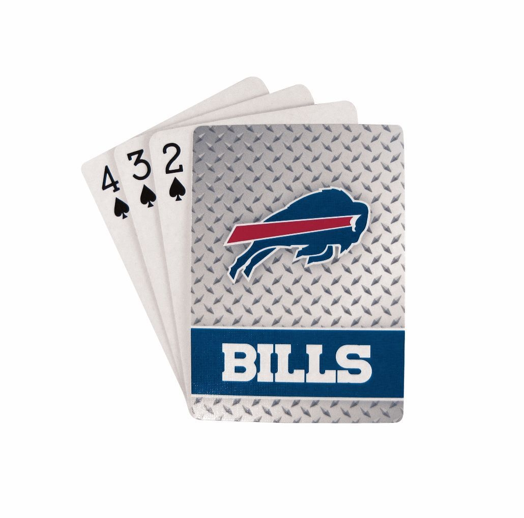 Buffalo Bills Playing Cards-diamond Plate - 5717533241 - Nfl Football Buffalo Bills Toys Games Puzzles Games 5717533241