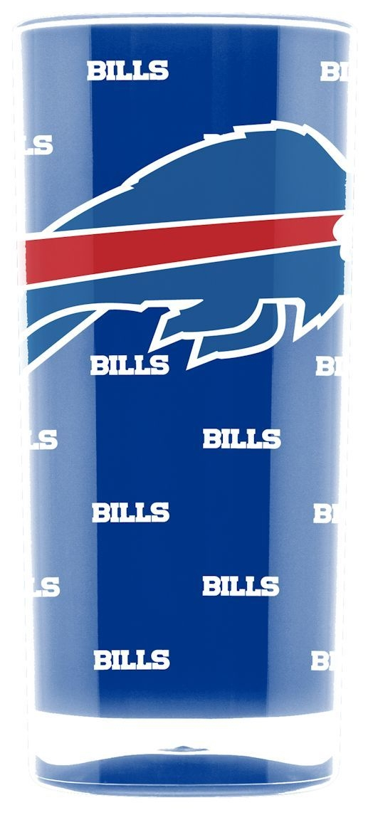 Nfl Football Buffalo Bills Tumblers And Pint Glasses - 9413102985 - Buffalo Bills Tumbler-square Insulated (16oz) 9413102985