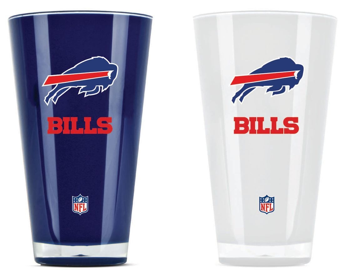 Buffalo Bills Tumblers-set Of 2 (20 Oz) - 9413101627 - Nfl Football Buffalo Bills Tumblers And Pint Glasses 9413101627