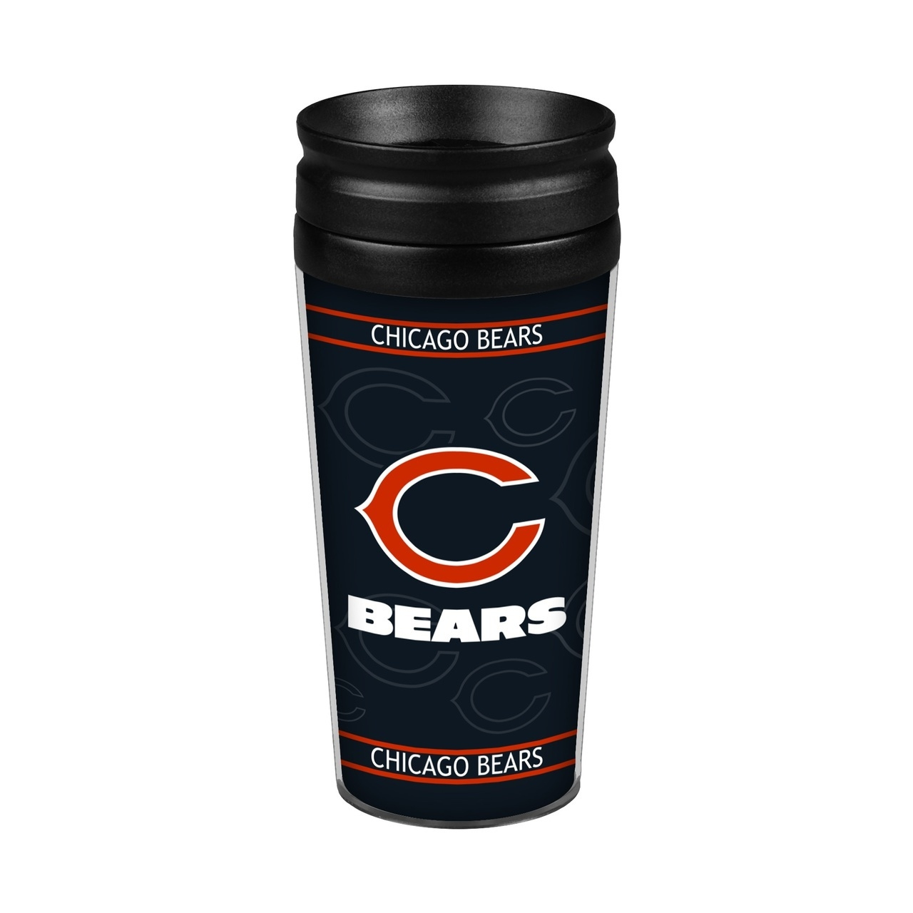 Chicago Bears 14oz. Full Wrap Travel Mug - 4736108800 - Nfl Football Chicago Bears Travel Mugs 4736108800