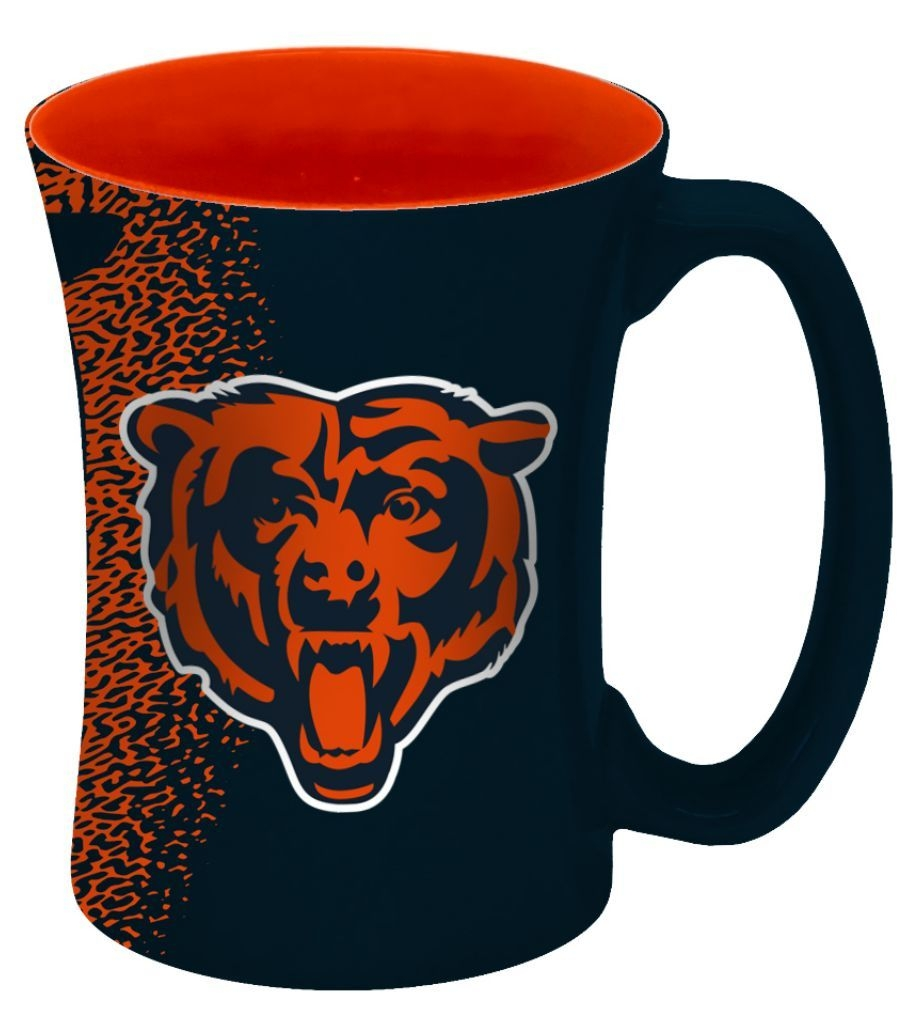 Chicago Bears Coffee Mug-14 Oz Mocha - 8886013550 - Nfl Football Chicago Bears Coffee Mugs 8886013550