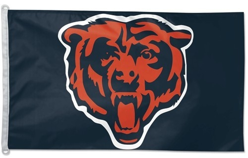 Chicago Bears Flag 3x5 - 3208542829 - Nfl Football Chicago Bears 3x5 Flags 3208542829