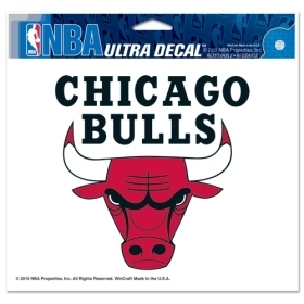 Nba Basketball Chicago Bulls Decals - 3208522052 - Chicago Bulls Decal 5x6 Ultra 3208522052