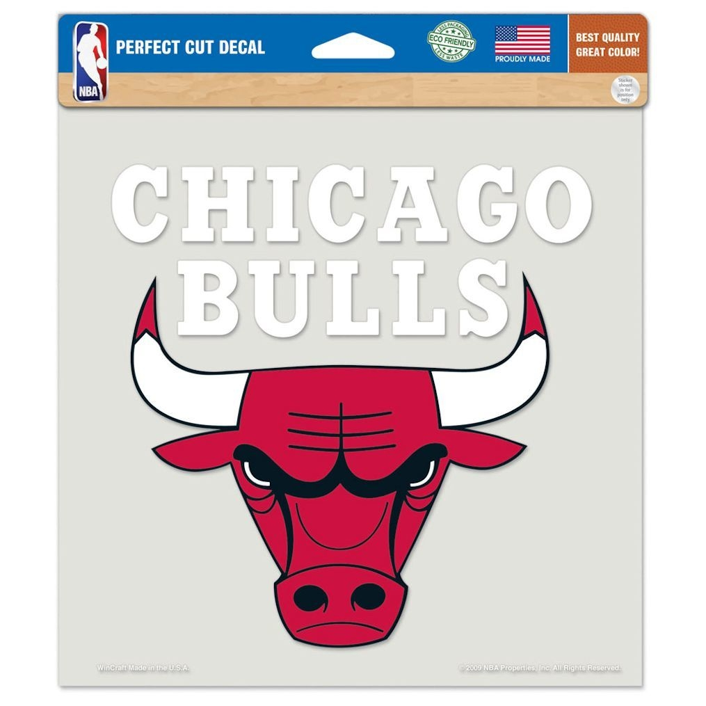 Chicago Bulls Decal 8x8 Die Cut Color - 3208584120 - Nba Basketball Chicago Bulls Decals 3208584120