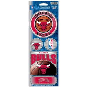 Chicago Bulls Stickers Prismatic - 3208591754 - Nba Basketball Chicago Bulls Bumper Stickers 3208591754