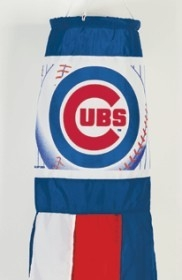 "Chicago Cubs 57"" Windsock - 3208501608 - Mlb Baseball Chicago Cubs Flags 3208501608"