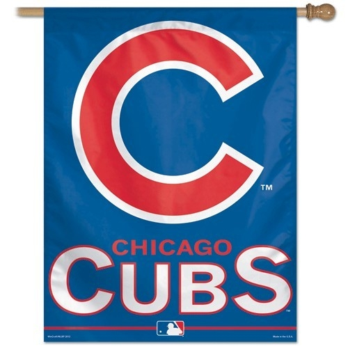 Chicago Cubs Banner 27x37 - 3208517934 - Mlb Baseball Chicago Cubs Banners 3208517934
