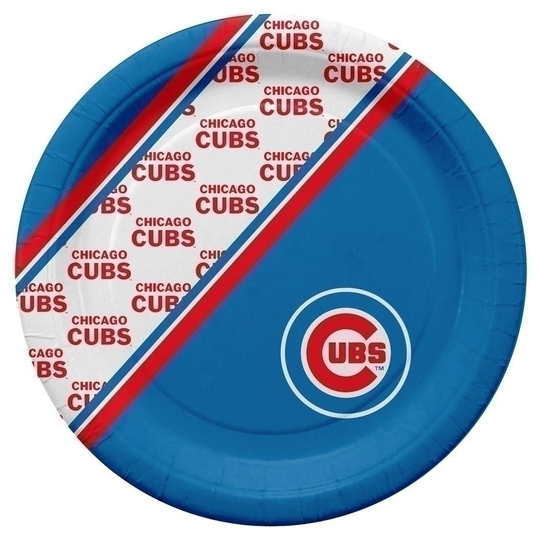 Mlb Baseball Chicago Cubs License Plates Frames - 9413103961 - Chicago Cubs Disposable Paper Plates 9413103961