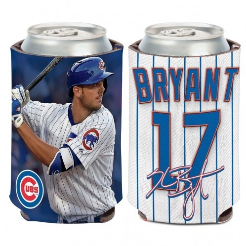 Chicago Cubs Kris Bryant Can Cooler - 3208515029 - Mlb Baseball Chicago Cubs Desk Accessories 3208515029