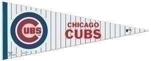 Mlb Baseball Chicago Cubs Pennants - 3208546554 - Chicago Cubs Pennant 3208546554