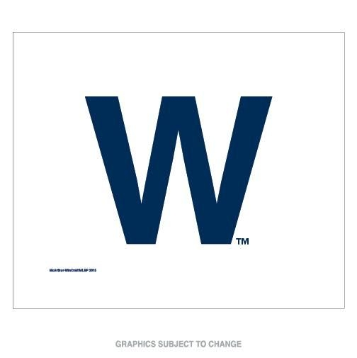 """Mlb Baseball Chicago Cubs Comfy Throws - 9960623020 - Chicago Cubs """"w"""" Rally Towel 9960623020"""