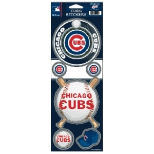 Chicago Cubs Stickers Prismatic - 3208520722 - Mlb Baseball Chicago Cubs Bumper Stickers 3208520722