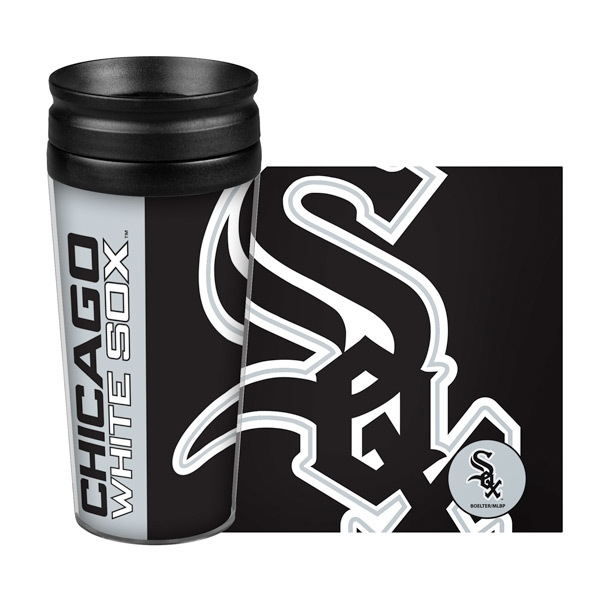 Chicago White Sox Travel Mug 14 Oz Full Wrap Hype Style - 8886046050 - Mlb Baseball Chicago White Sox Travel Mugs 8886046050