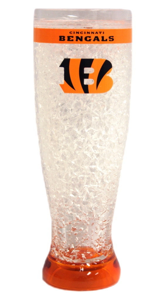 Cincinnati Bengals Crystal Pilsner Glass - 9413125105 - Nfl Football Cincinnati Bengals Shot Glasses 9413125105