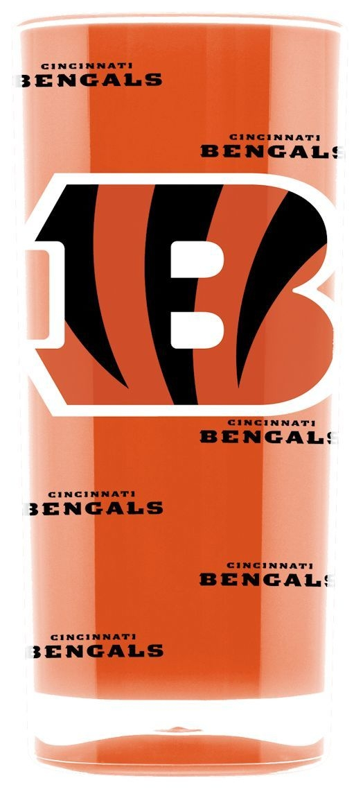 Cincinnati Bengals Tumbler-square Insulated (16oz) - 9413102987 - Nfl Football Cincinnati Bengals Tumblers And Pint Glasses 9413102987