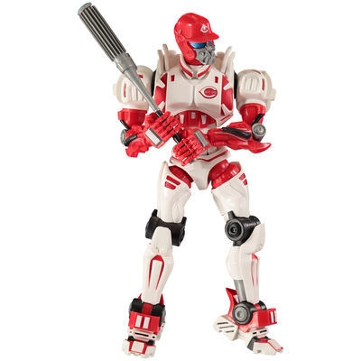 Cincinnati Reds Fox Sports Robot - 1263301157 - Mlb Baseball Cincinnati Reds Robots Figurines 1263301157