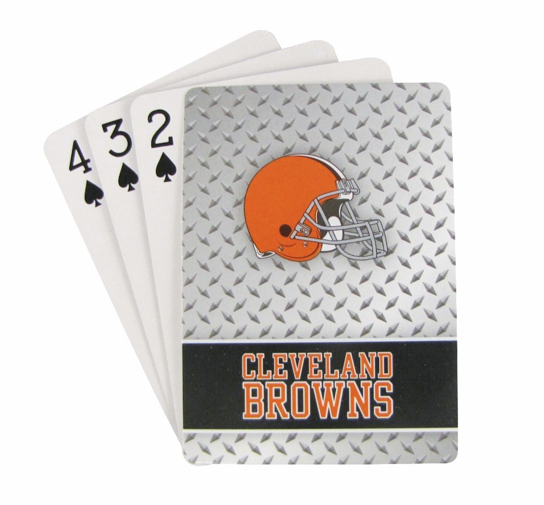Cleveland Browns Playing Cards-diamond Plate - 5717533245 - Nfl Football Cleveland Browns Toys Games Puzzles Games 5717533245