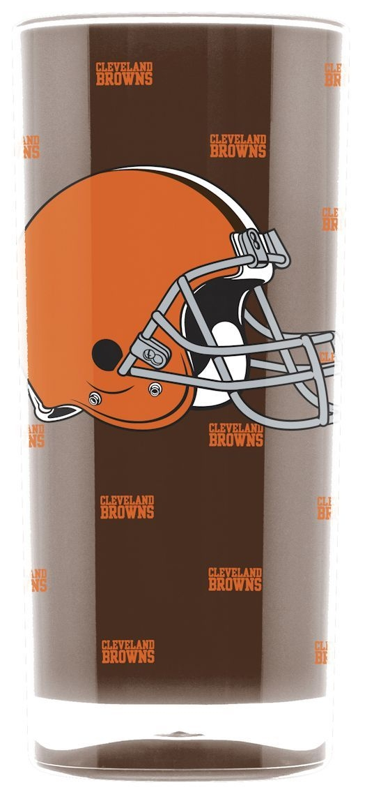 Cleveland Browns Tumbler-square Insulated (16oz) - 9413102988 - Nfl Football Cleveland Browns Tumblers And Pint Glasses 9413102988