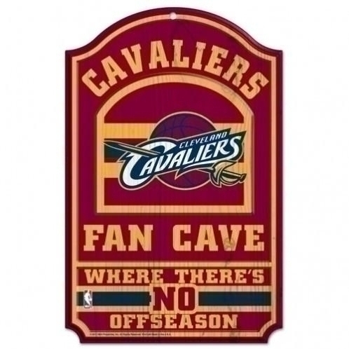 Cleveland Cavaliers 11x17 Wood Sign-fan Cave - 3208538307 - Nba Basketball Cleveland Cavaliers Pet Fan Gear 3208538307