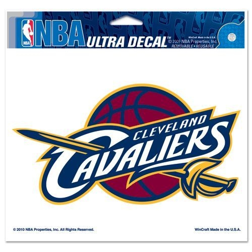 Nba Basketball Cleveland Cavaliers Decals - 3208591380 - Cleveland Cavaliers Decal 5x6 Ultra Color 3208591380