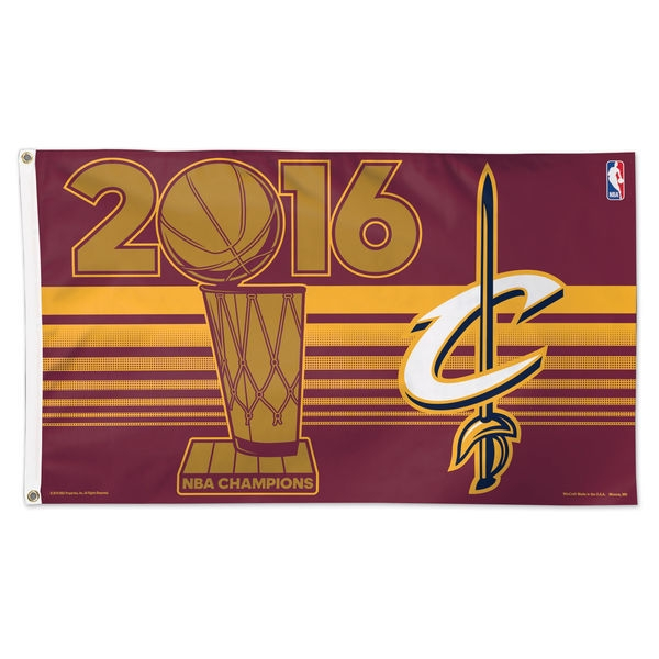 Cleveland Cavaliers Flag 3x5 Deluxe With Grommets Celebration Without Players 2016 Champions - 3208564511 - Nba Basketball Cleveland Cavaliers 3x5 Flags 3208564511