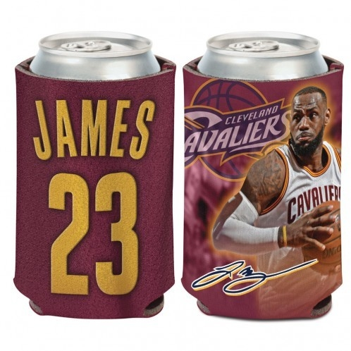 Cleveland Cavaliers Lebron James Can Cooler - 3208534210 - Nba Basketball Cleveland Cavaliers Desk Accessories 3208534210