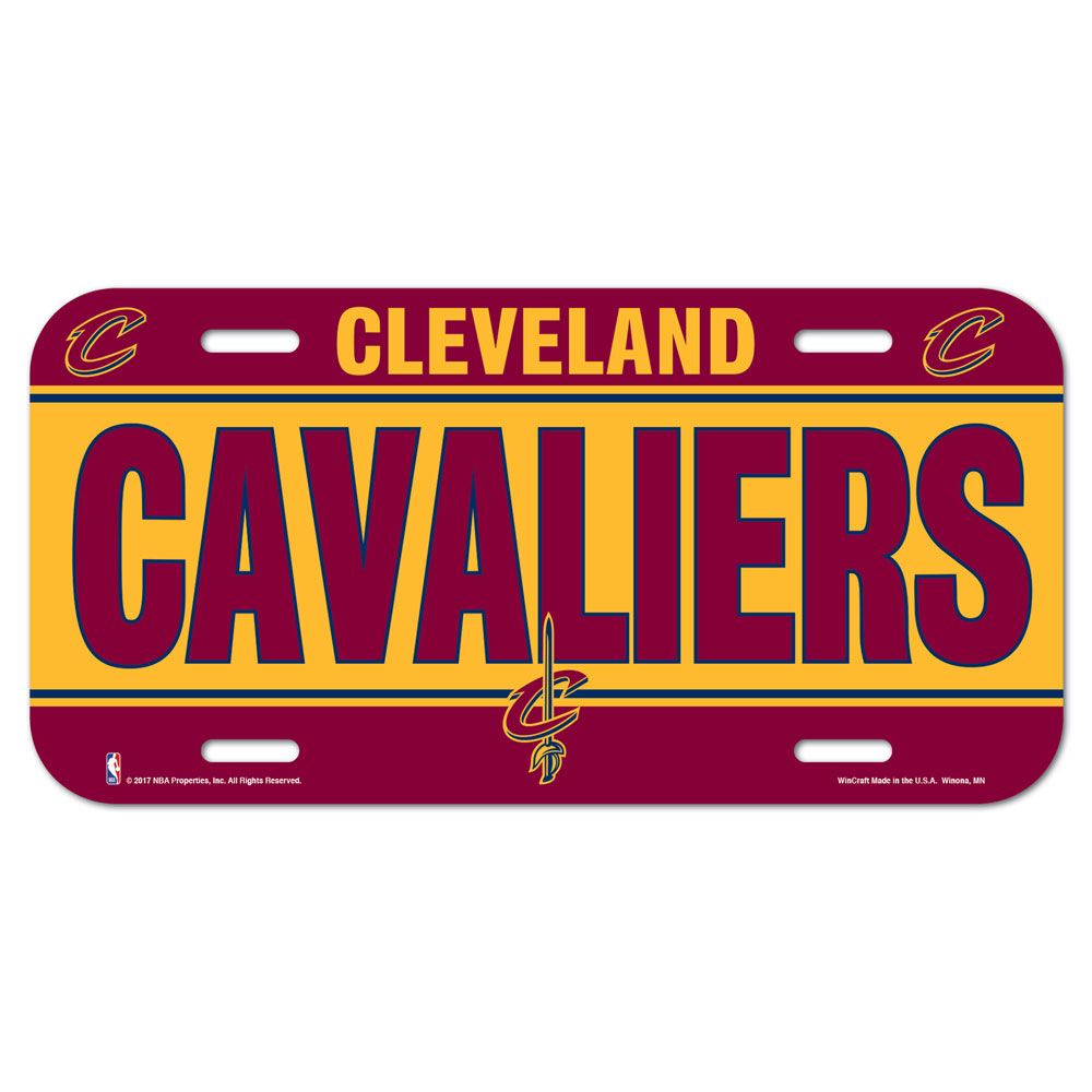 Cleveland Cavaliers License Plate - 3208584343 - Nba Basketball Cleveland Cavaliers License Plates Frames 3208584343