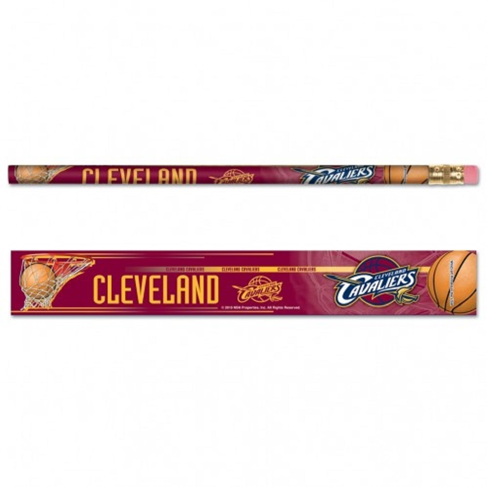 Cleveland Cavaliers Pencil 6 Pack - 3208515617 - Nba Basketball Cleveland Cavaliers Indoor Home Office Desk Accessories 3208515617