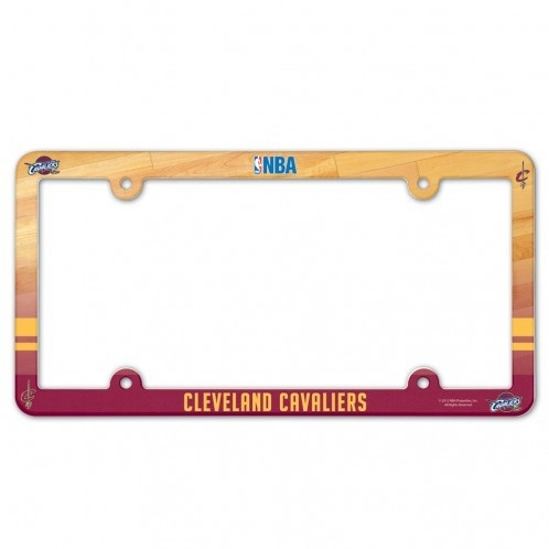 Cleveland Cavaliers Plastic Full Color License Plate Frame - 3208590448 - Nba Basketball Cleveland Cavaliers License Plates Frames 3208590448
