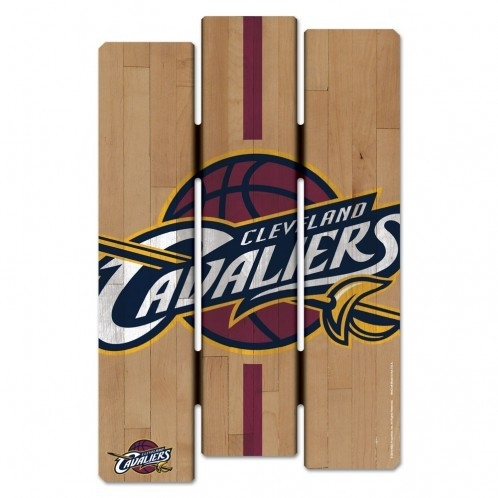 Cleveland Cavaliers Wood Fence Sign - 3208532429 - Nba Basketball Cleveland Cavaliers Signs 3208532429