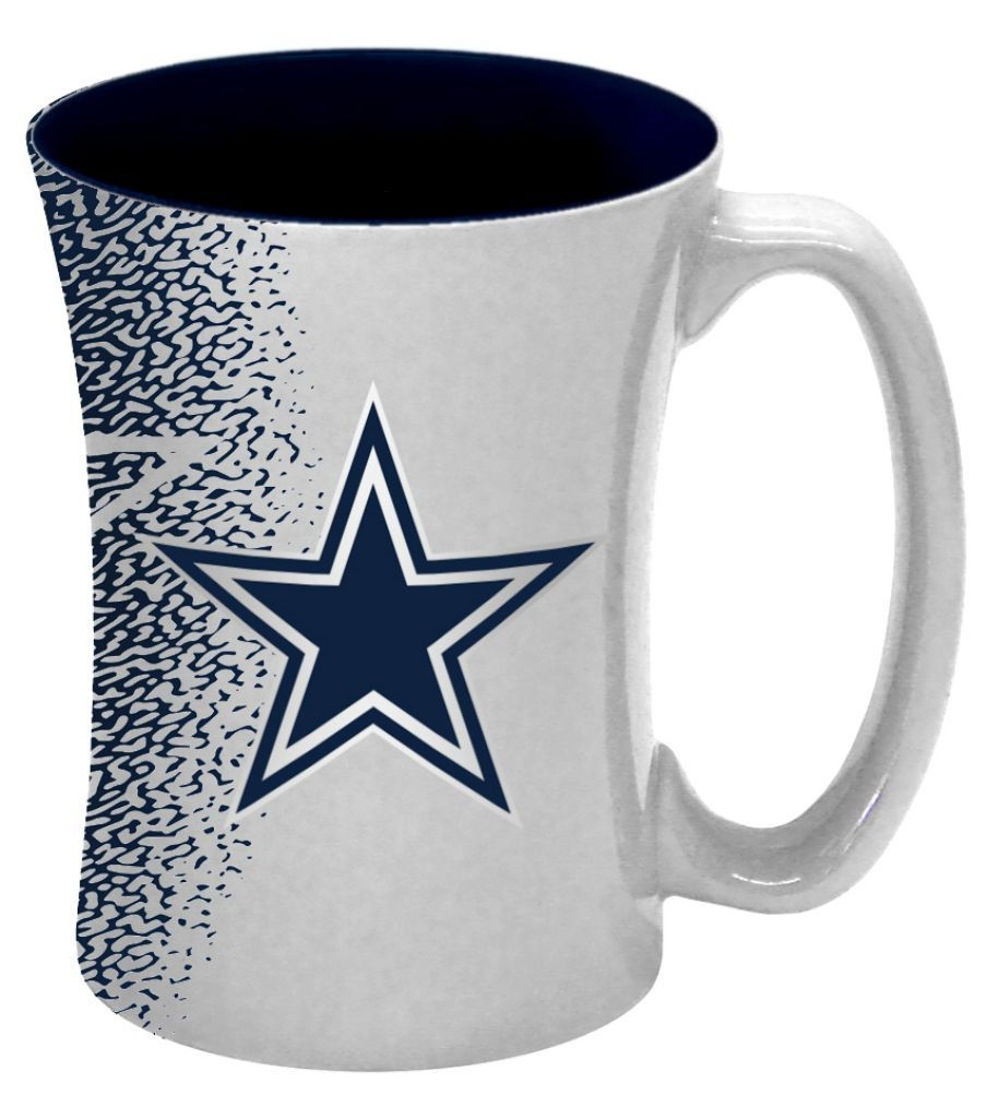 Dallas Cowboys Coffee Mug-14 Oz Mocha - 8886013560 - Nfl Football Dallas Cowboys Coffee Mugs 8886013560