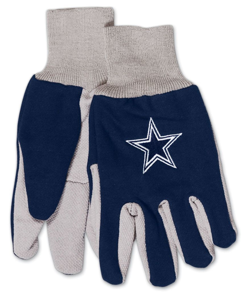 Nfl Football Dallas Cowboys Gloves - 9960602986 - Dallas Cowboys Two Tone Youth Size Gloves 9960602986